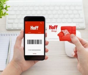 2 варианта, как проверить бонусы на карте магазина Хофф (Hoff).