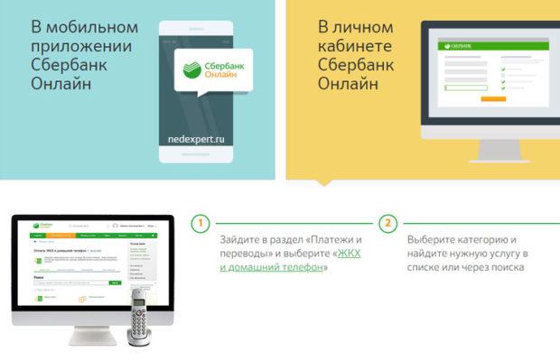 Какие показания счетчиков предают в Сбербанк-онлайн - порядок